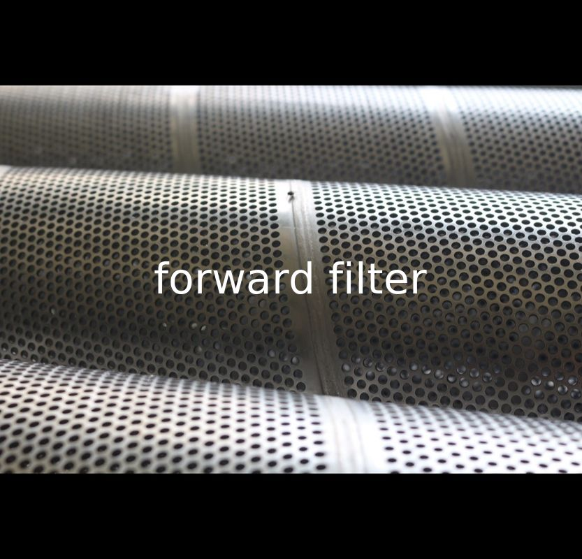 Automotive Engineering Spiral Perforated Tube , Perforated Stainless Steel Pipe