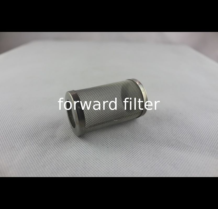 Industrial Stainless Steel Mesh Tube Filter Water Filtration Customized Material